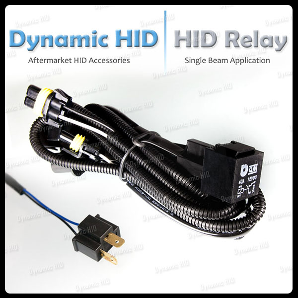 Relay Wiring Harness W   Fuse For Hid Xenon Kit Size
