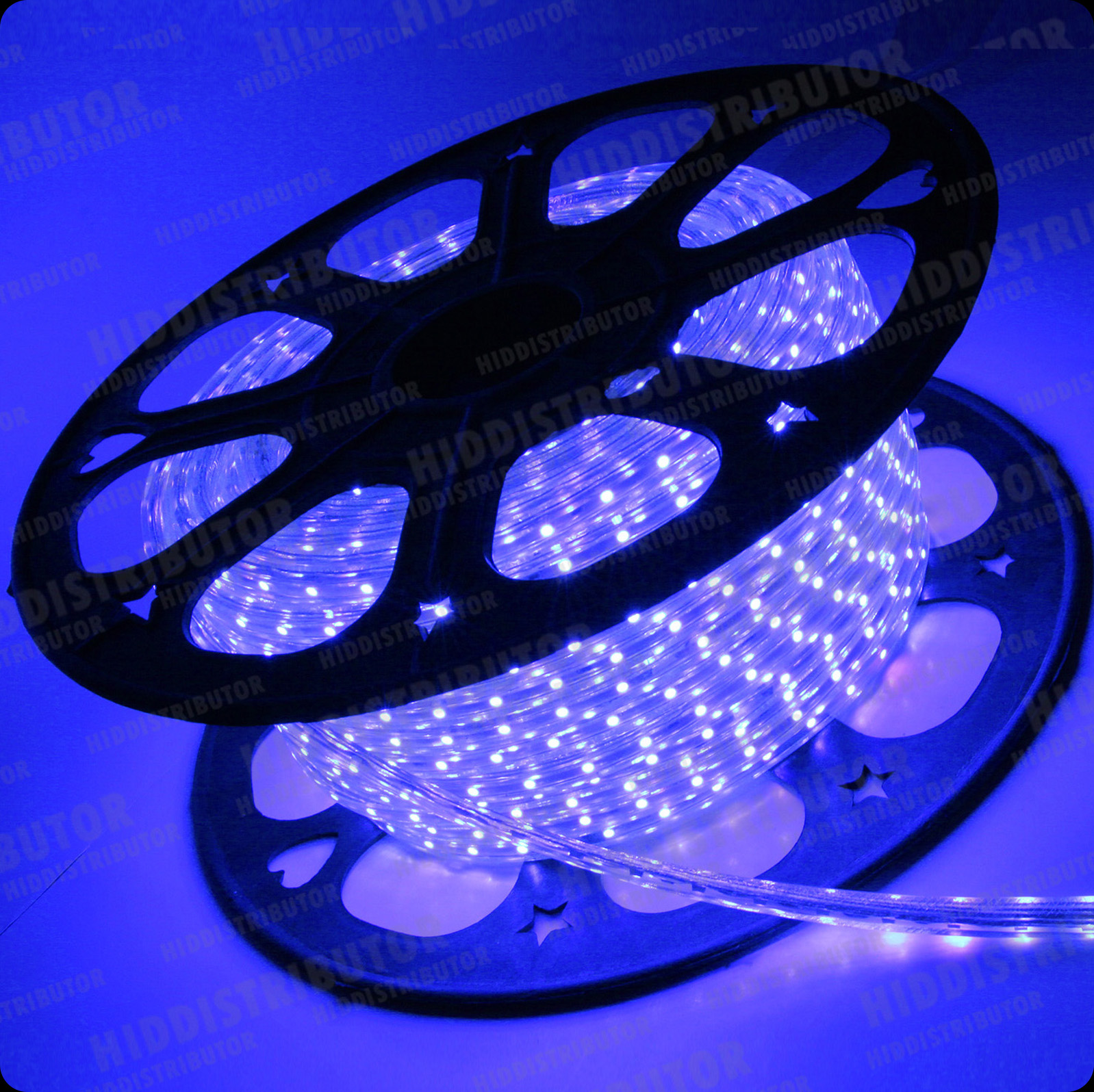 Blue 110V 120V Power Flexible Flat 3528SMD LED Strip Rope Light Cut 120 Feet eBay