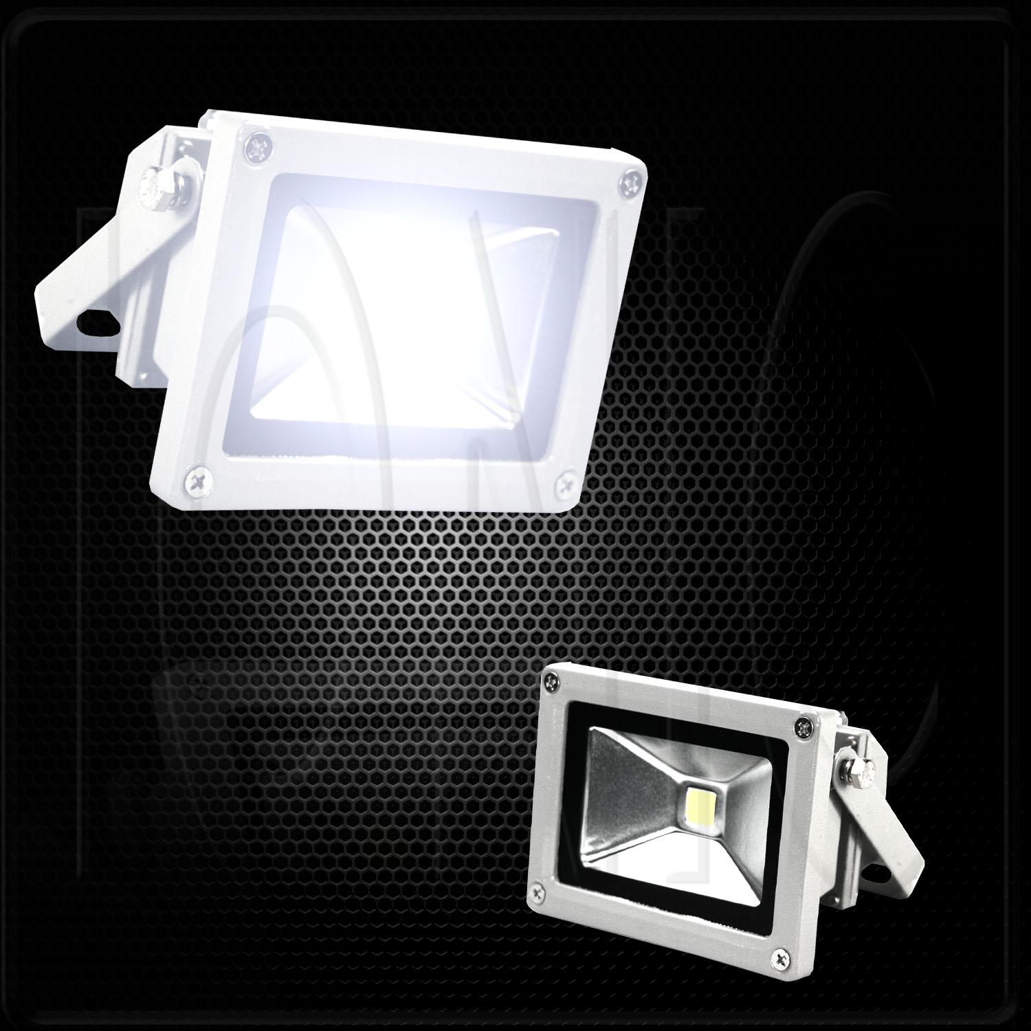 120v Led Landscape Lights: 10W 120V LED Flood Light Day Trailer RV Camper Outdoor